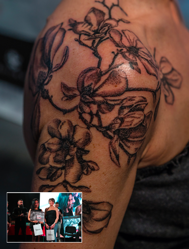 Passion art tattoo for Ink lab tattoo